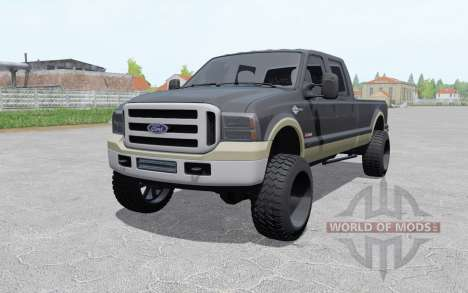 Ford F-350 Crew Cab King Ranch 2006 pour Farming Simulator 2017