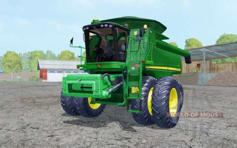 John Deere 9770 STS dual front wheels für Farming Simulator 2015
