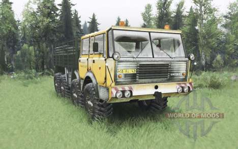 Tatra T813 TP 8x8 Kings Off-Road 2 winter v1.1 pour Spin Tires