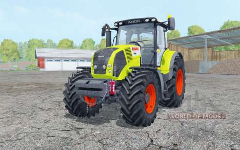Claas Axion 850 with weight pour Farming Simulator 2015