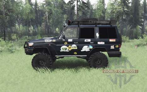 Toyota Land Cruiser 70 (J76) 2007 Expedition pour Spin Tires