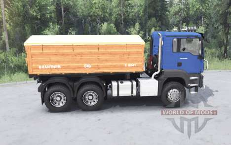 MAN TGS 26.480 v3.0 pour Spin Tires