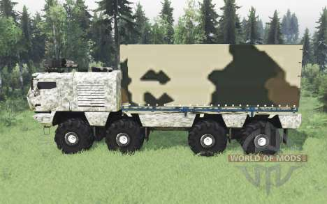 KamAZ 53958 Tornade pour Spin Tires