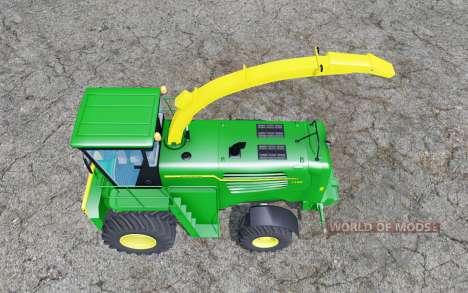 John Deere 7180 with cutter pour Farming Simulator 2015