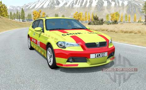 ETK 800-Series Belgian EMS pour BeamNG Drive