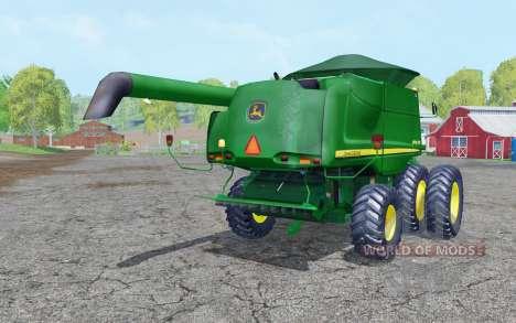 John Deere 9770 STS dual front wheels pour Farming Simulator 2015