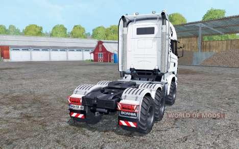 Scania R730 V8 Topline agrotruck pour Farming Simulator 2015
