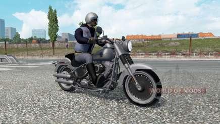 Motorrad-traffic v2.3 für Euro Truck Simulator 2