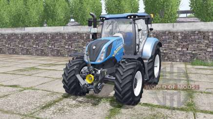 New Holland T6.140 Michelin tires pour Farming Simulator 2017