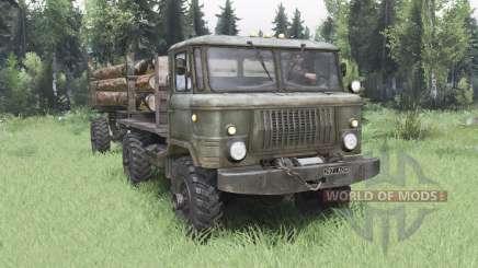 GAZ 66 4x4 pour Spin Tires