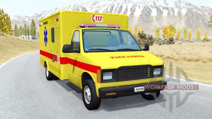 Gavril H-Series Belgian EMS pour BeamNG Drive