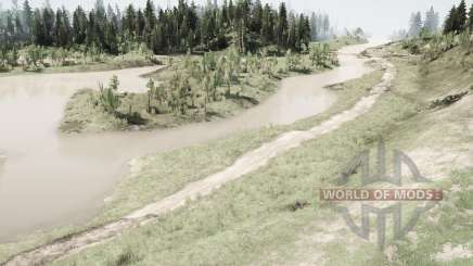 Route forestière pour MudRunner