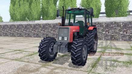 MTZ-820 roues arrière jumelées pour Farming Simulator 2017