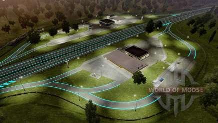 Roadways Luminous für Euro Truck Simulator 2