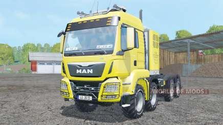 MAN TGS 8x8 tractor pour Farming Simulator 2015