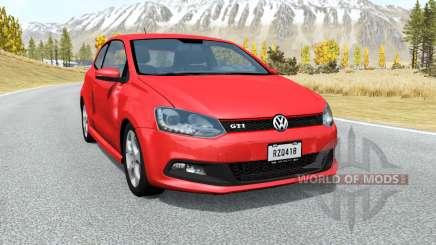 Volkswagen Polo GTI 3-door (Typ 6R) 2010 pour BeamNG Drive