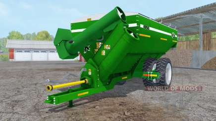 Kinze 1050 green row crop duals für Farming Simulator 2015