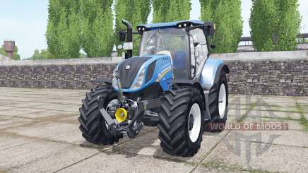 New Holland T6.160 wheels selection pour Farming Simulator 2017