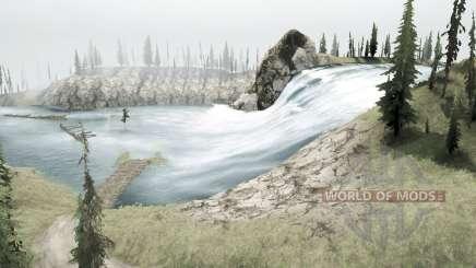 Rivière de montagne pour MudRunner