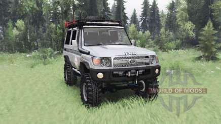 Toyota Land Cruiser 70 (J76) 2007 ICRC für Spin Tires
