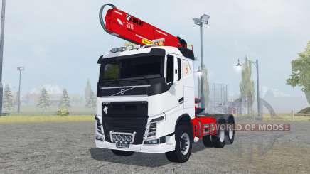 Volvo FH16 750 Sleeper cab timber loader pour Farming Simulator 2013