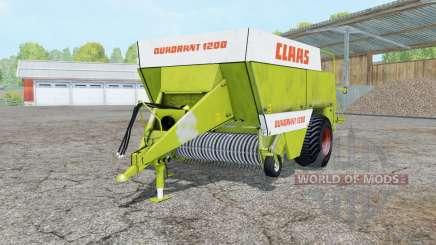 Claas Quadrant 1200 pour Farming Simulator 2015