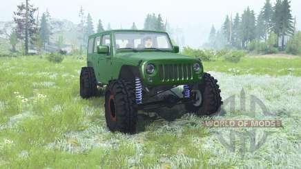 Jeep Wrangler Unlimited (JK) 2007 pour MudRunner