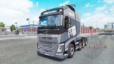 Volvo FH16 750 8x4 Globetrotteᶉ XL 2014 pour Euro Truck Simulator 2