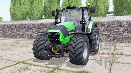 Deutz-Fahr Agrotron 6190 TTV wheels selection pour Farming Simulator 2017