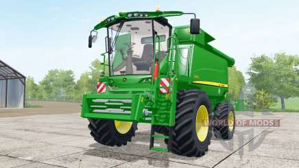 John Deere T670i wheels selection pour Farming Simulator 2017