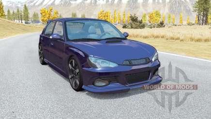 Hirochi Sunburst hatchback v1.14 pour BeamNG Drive
