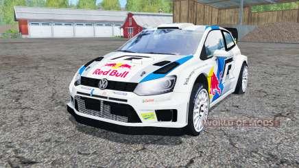 Volkswagen Polo R WRC (Typ 6R) 2013 pour Farming Simulator 2015