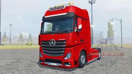 Mercedes-Benz Actros (MP4) flashing light beacon pour Farming Simulator 2013