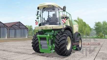 Krone BiG X 580 dynamique hoseʂ pour Farming Simulator 2017