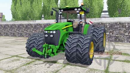 John Deere 7930 double wheels für Farming Simulator 2017