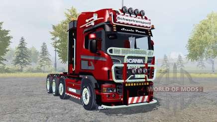 Scania R560 8x8 Topline Heavy Duty pour Farming Simulator 2013