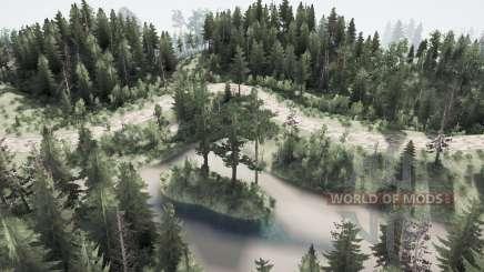 Boisé de la nature pour MudRunner