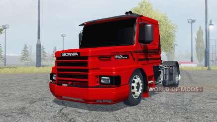 Scania T112HW 4x4 pour Farming Simulator 2013