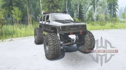 Jeep Cherokee (XJ) 1988 TTC pour MudRunner