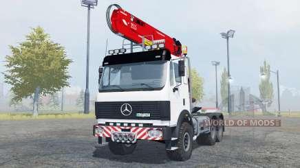 Mercedes-Benz 2631 S timber loader pour Farming Simulator 2013