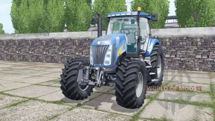 New Holland TG285 Michelin tyres pour Farming Simulator 2017