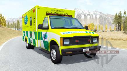 Gavril H-Series Ambulance New Zealand v0.3.2 pour BeamNG Drive