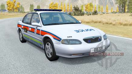 Ibishu Pessima British Police v0.4 pour BeamNG Drive