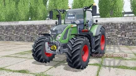 Fendt 712 Vario wheels selection pour Farming Simulator 2017