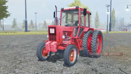 MTZ 80 Biélorussie éléments animés pour Farming Simulator 2013
