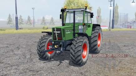 Fendt Favorit 615 LSA Turbomatik double wheels für Farming Simulator 2013