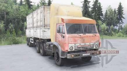 KamAZ-5410 6x4 pour Spin Tires