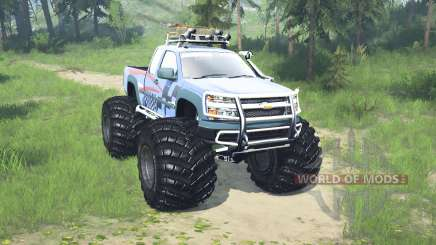 Chevrolet Colorado Extended Cab monster truck pour MudRunner