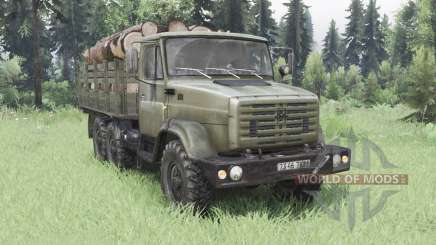 ZIL-4334 6x6 pour Spin Tires
