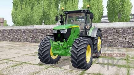 John Deere 6175R design configurations pour Farming Simulator 2017